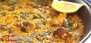 Authentic Spanish Paella Valenciana