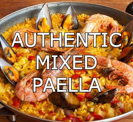 MIXED PAELLA RECIPE