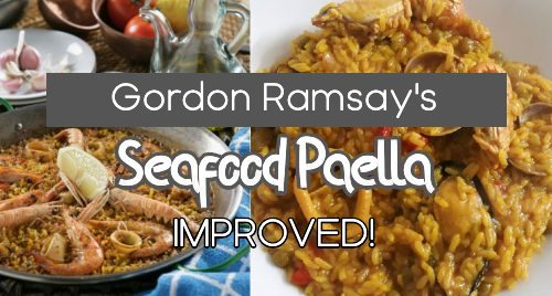 Seafood Paella Recipe by Gordon Ramsay