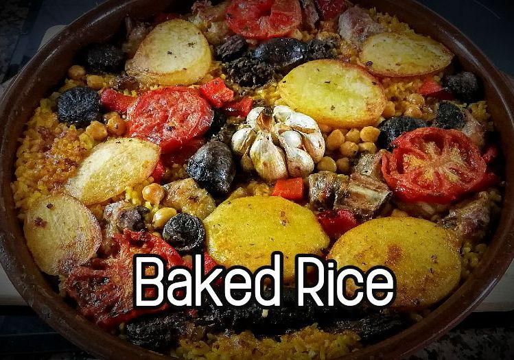 Baked Rice - Arroz al horno