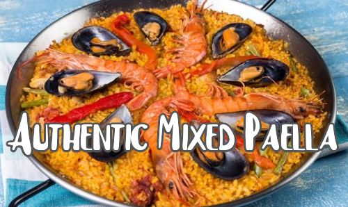 Authentic Mixed Paella Recipe