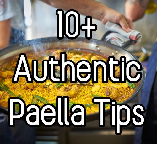 Paella tips