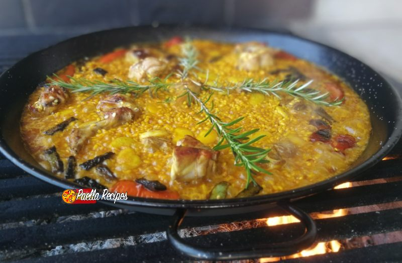 Authentische Paella