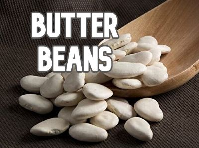 Butter beans for paella
