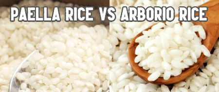 is risotto rice the same as paella rice