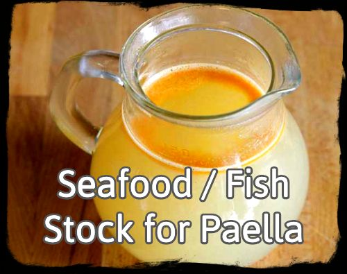 FISH STOCK FOR PAELLA