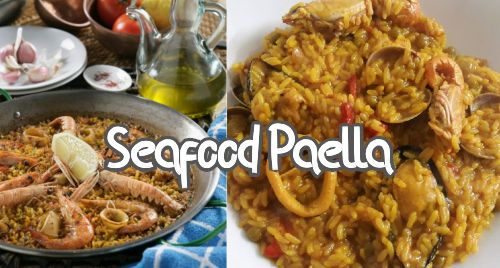 how to make the perfect seafood paella?