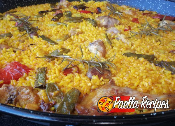 Meat paella recipe