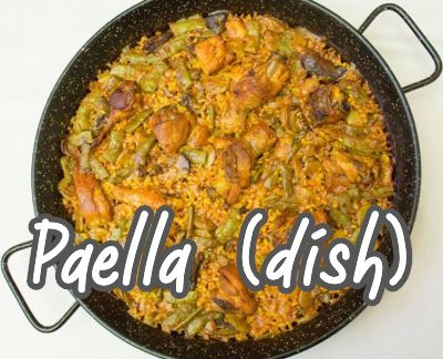 What does paella mean?