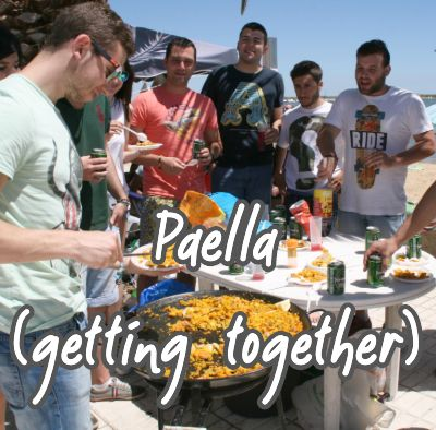 paella (getting together)