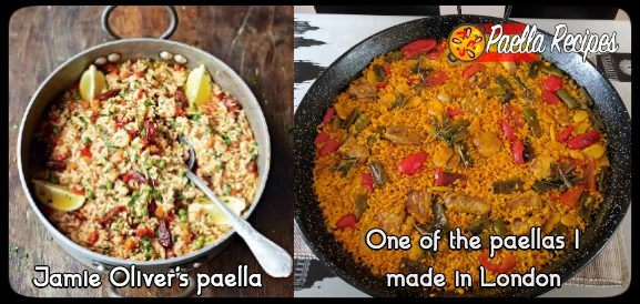 The cooler alternative to Jamie Oliver´s chorizo paella