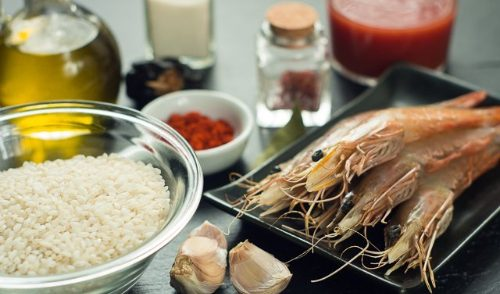 prawn paella ingredients