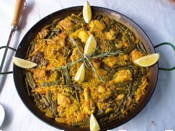 Rosmary on paella