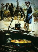 traditional paella picture