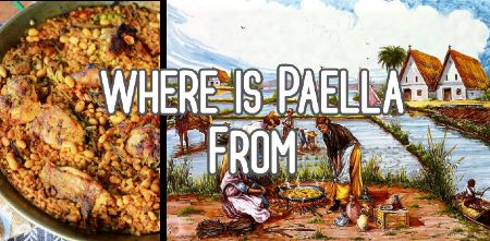 Where in paella from?